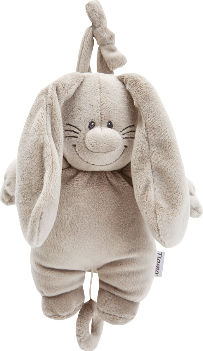 Bunny Basic - Grijs - Muziekdoosje