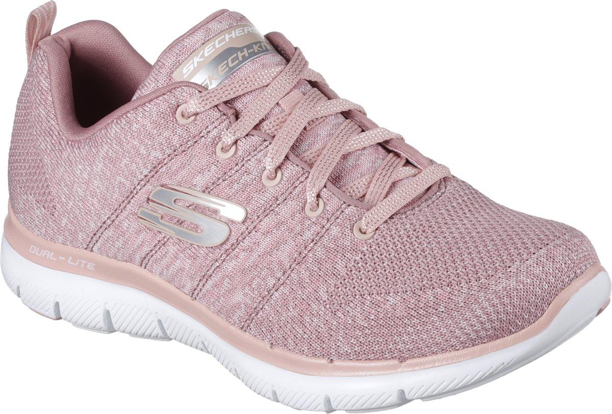 Skechers Flex Appeal 2.0 High Energy Sneakers Dames Rose Maat 41