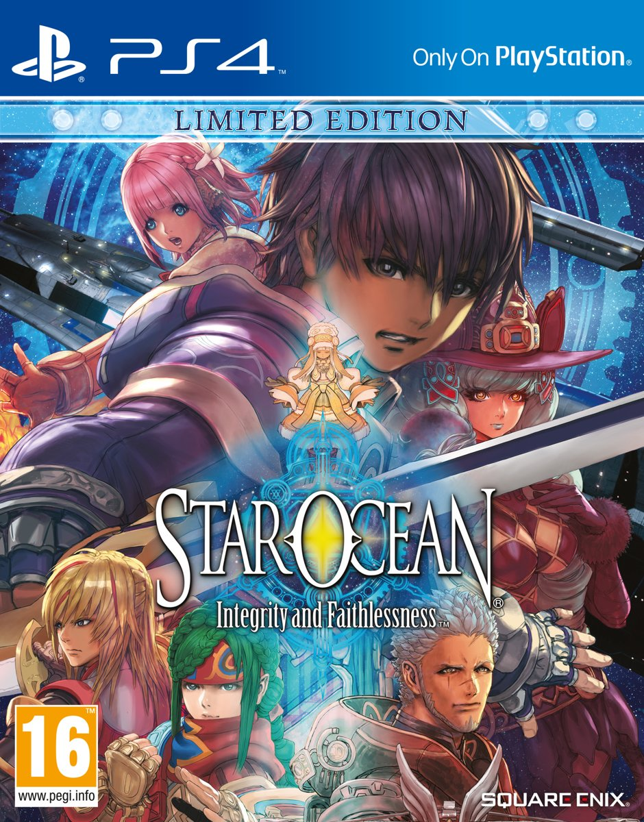 Star Ocean: Integrity and Faithlessness Limited Edition PlayStation 4