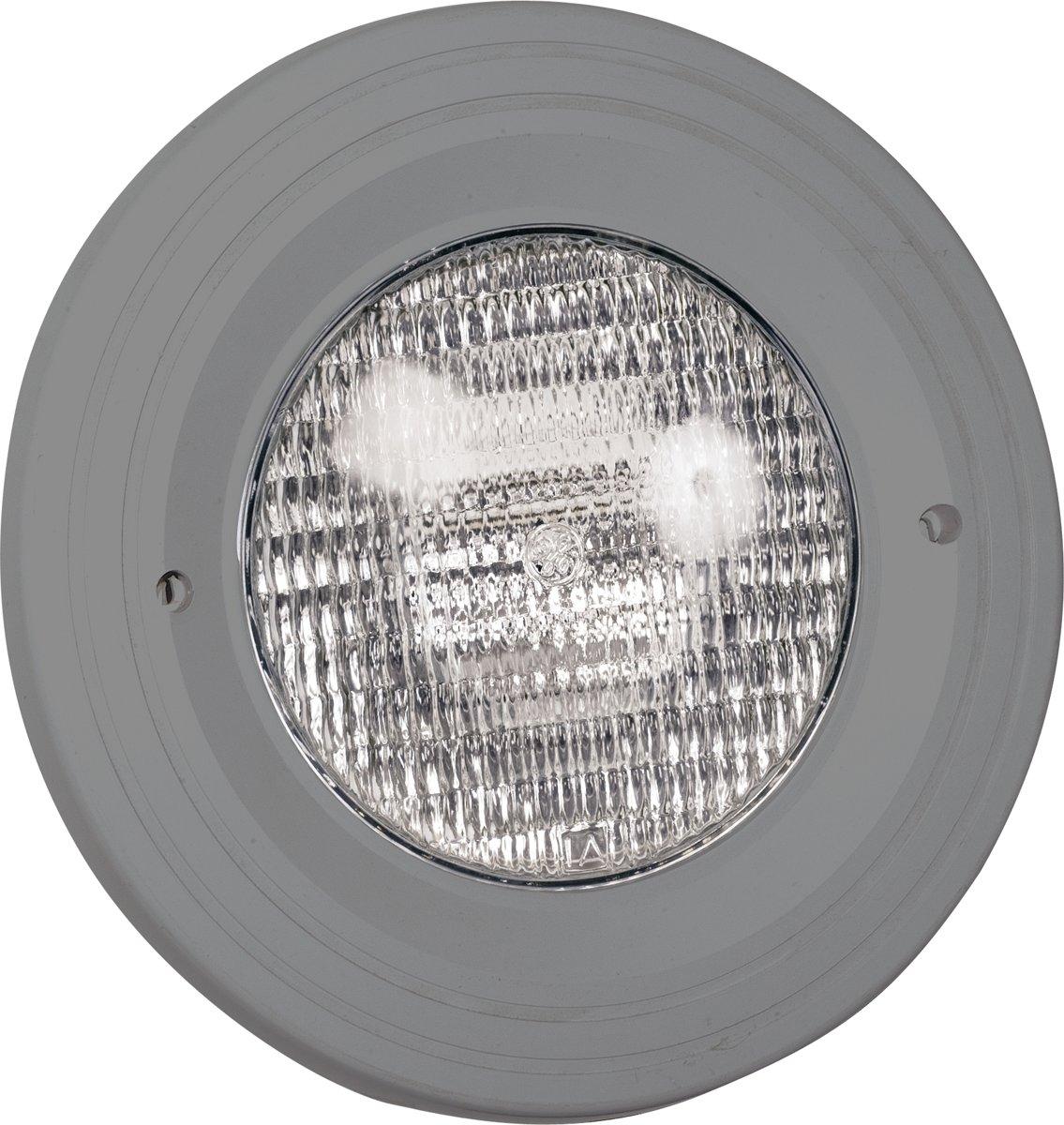 Zwembadlamp 300W + inbouwset Aquareva antraciet grijs
