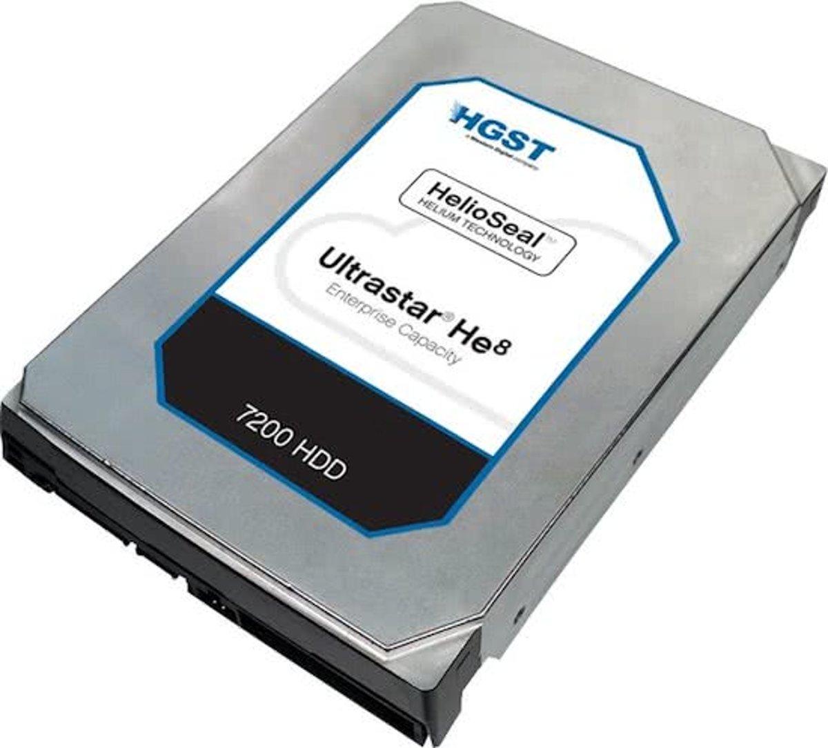 HGST Ultrastar He8 3.5'' 8000 GB SAS kopen