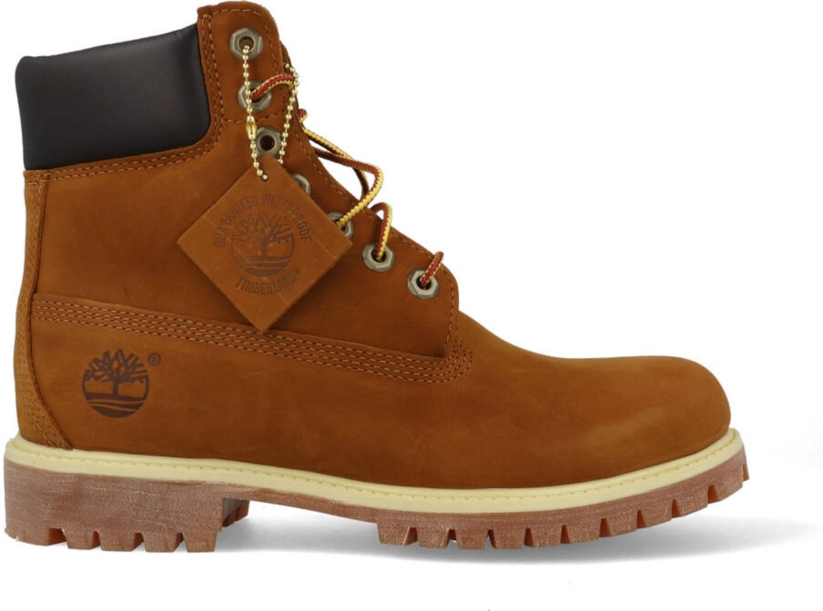 Timberland Heren 6 inch Premium Boots 72066 Cognac Bruin Maat 45,5