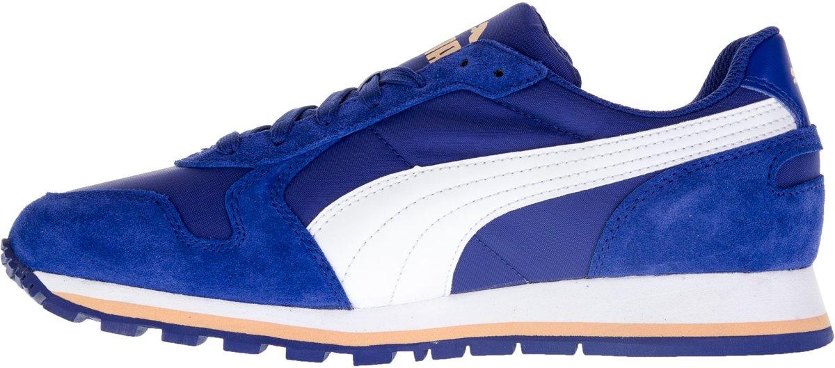 Chaussures De Coureur St - Pumas Taille 37 - Unisexe - Bleu / Blanc / Orange uDERDlxklY