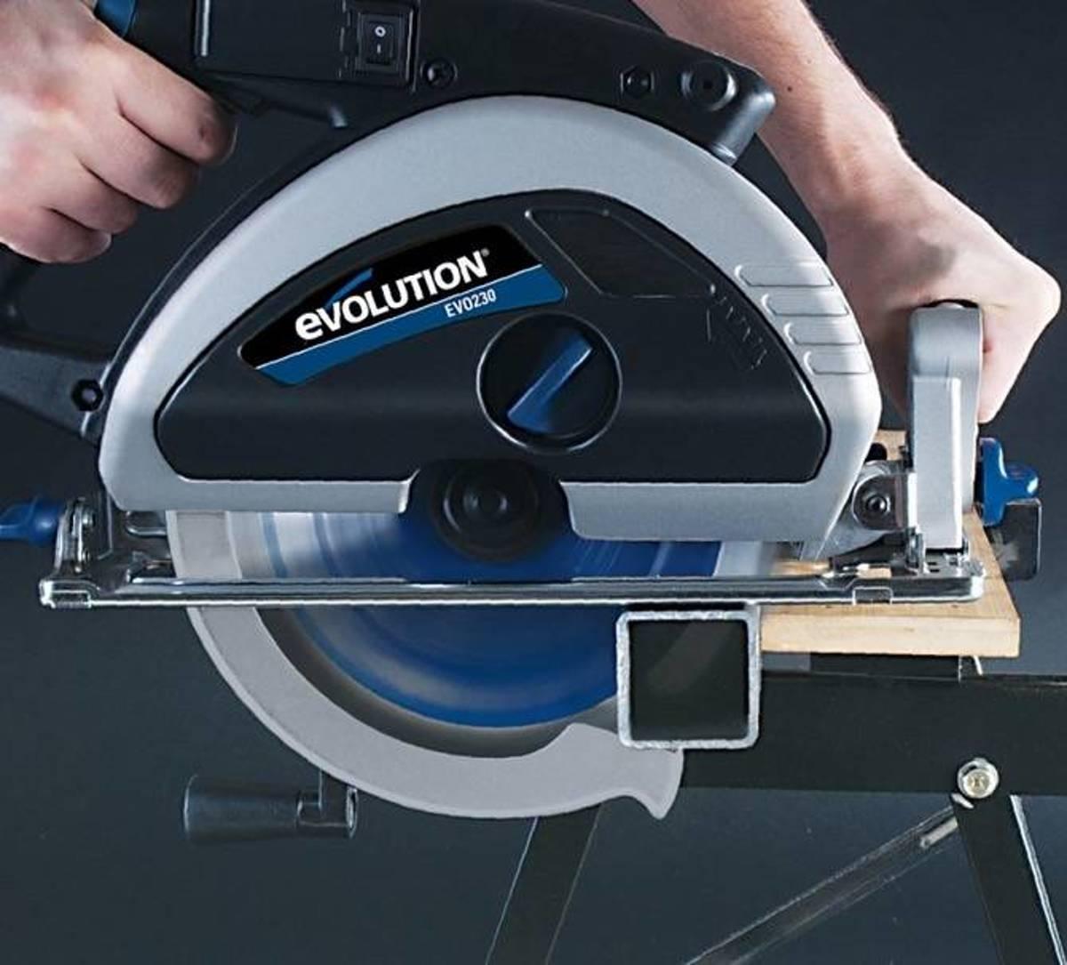 EVO 230-HDX 230V 230mm zaagblad