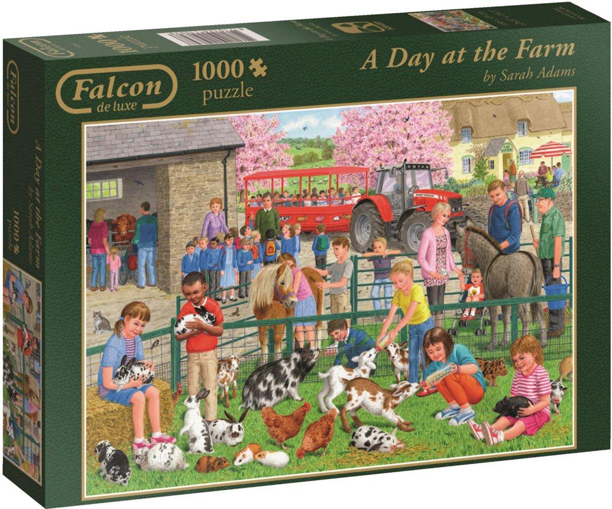 A Day at the Farm - Puzzel- 1000 stukjes