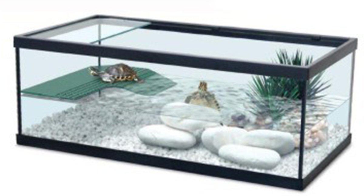 Aquatlantis Tortum 55 Aquarium - 55x29x20 cm - Zwart