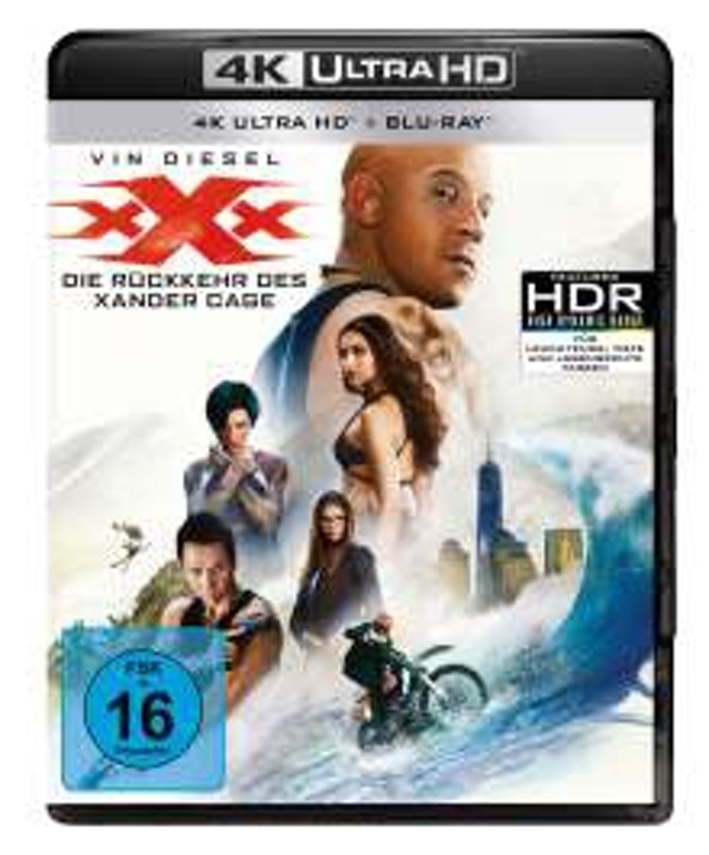 xXx : Return of Xander Cage (2016) (Ultra HD Blu-ray & Blu-ray)-