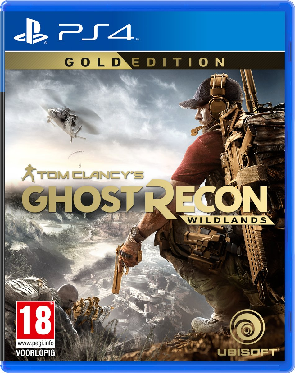 Ghost Recon: Wildlands - Gold Edition PlayStation 4