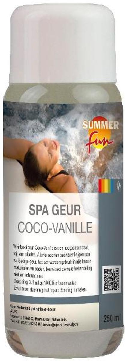Spa aroma kokos-vanillegeur 250 ml voor spa en Jacuzzi