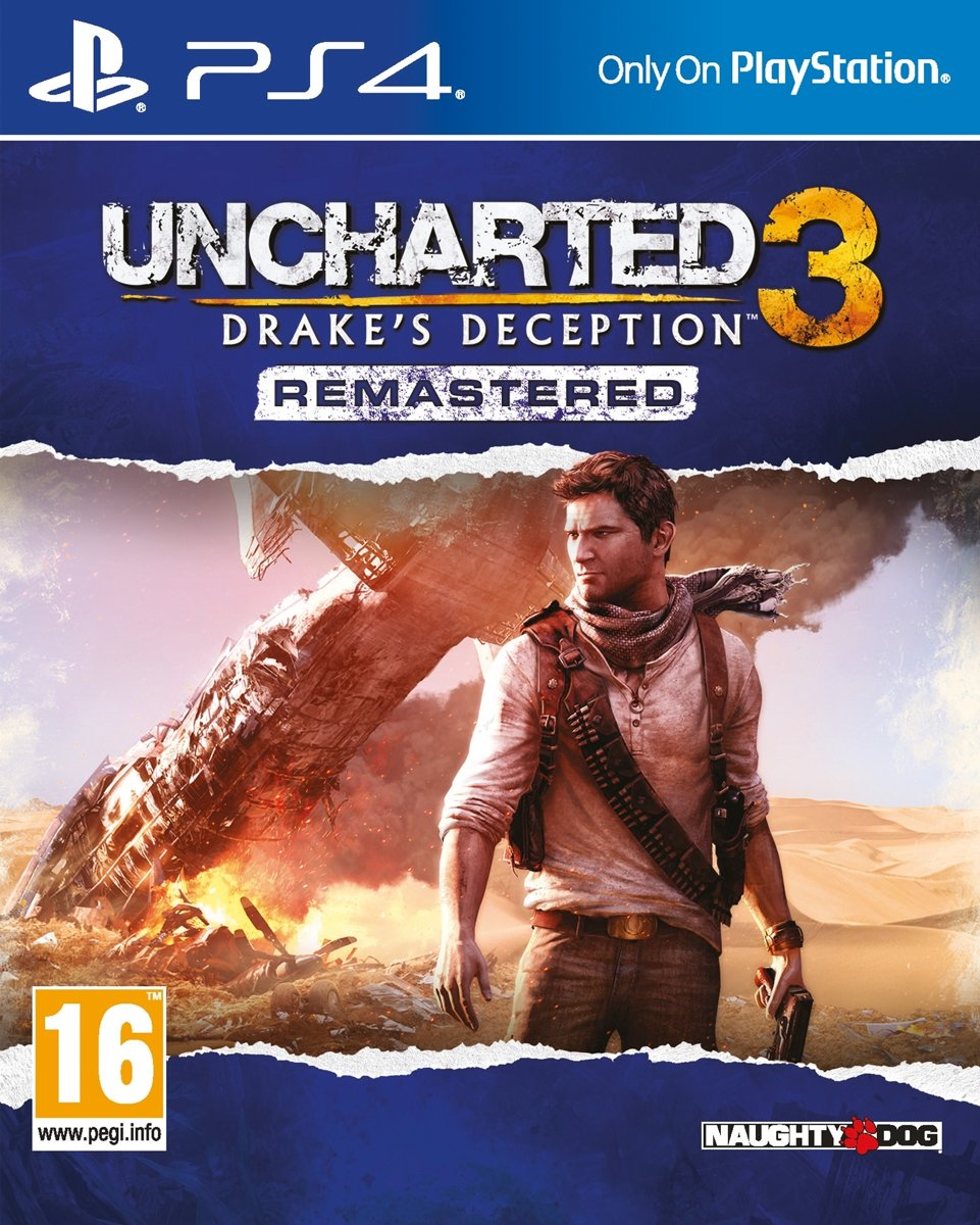 Uncharted 3: Drake's Deception PlayStation 4