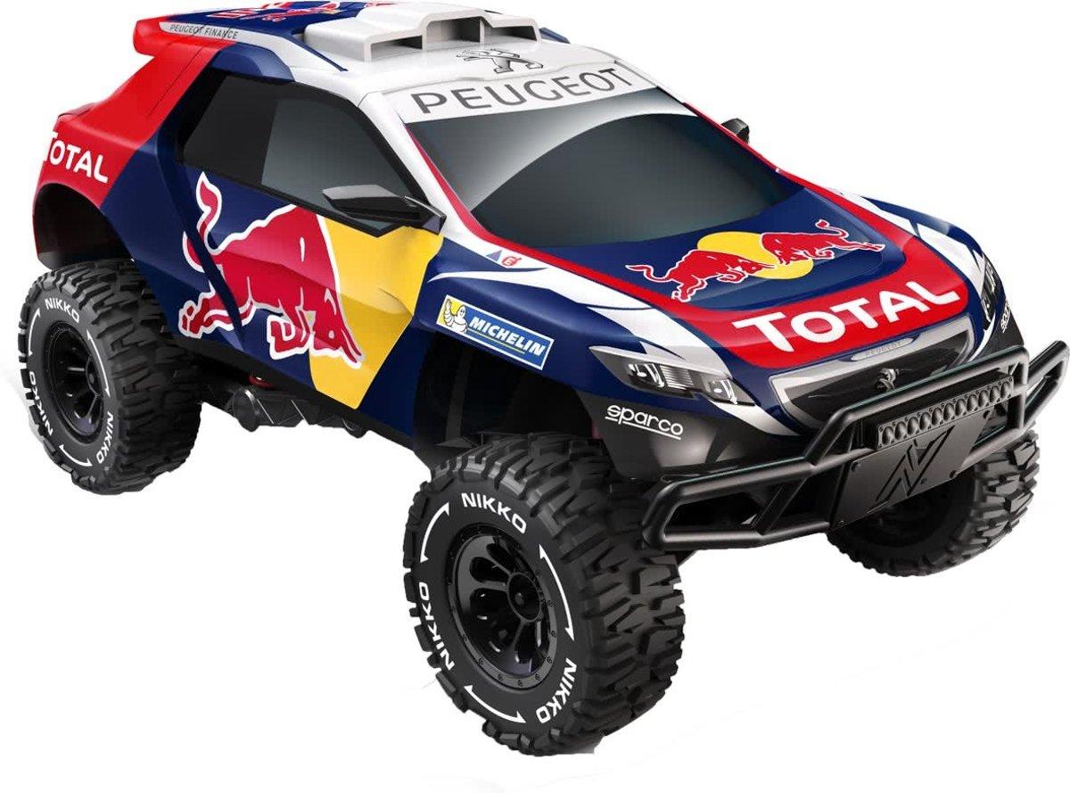 Nikko Bestuurbare auto - Red Bull Peugeot 2008 DKR Elite SFX - RC EVO