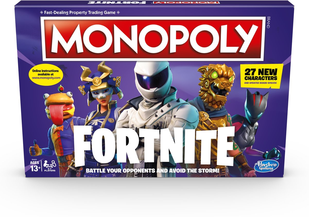 Monopoly Fortnite Editie
