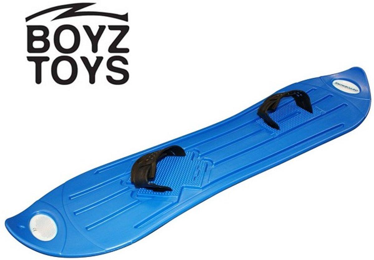 Boyz Toys - Snowboard kind - Kinder snowboard - Plastic snowboard - Blauw kopen