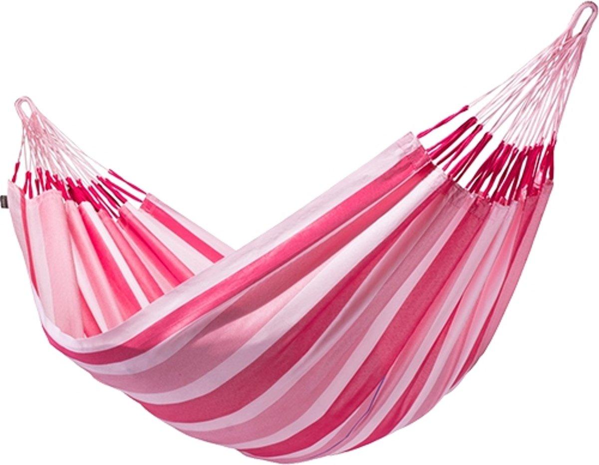 Dubbele Hangmat Aventura Wild Rose Candy - La Siesta -