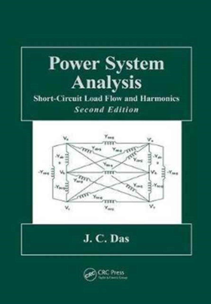 Power System Analysis J C Das 9781138075047 Boeken Shortcircuit