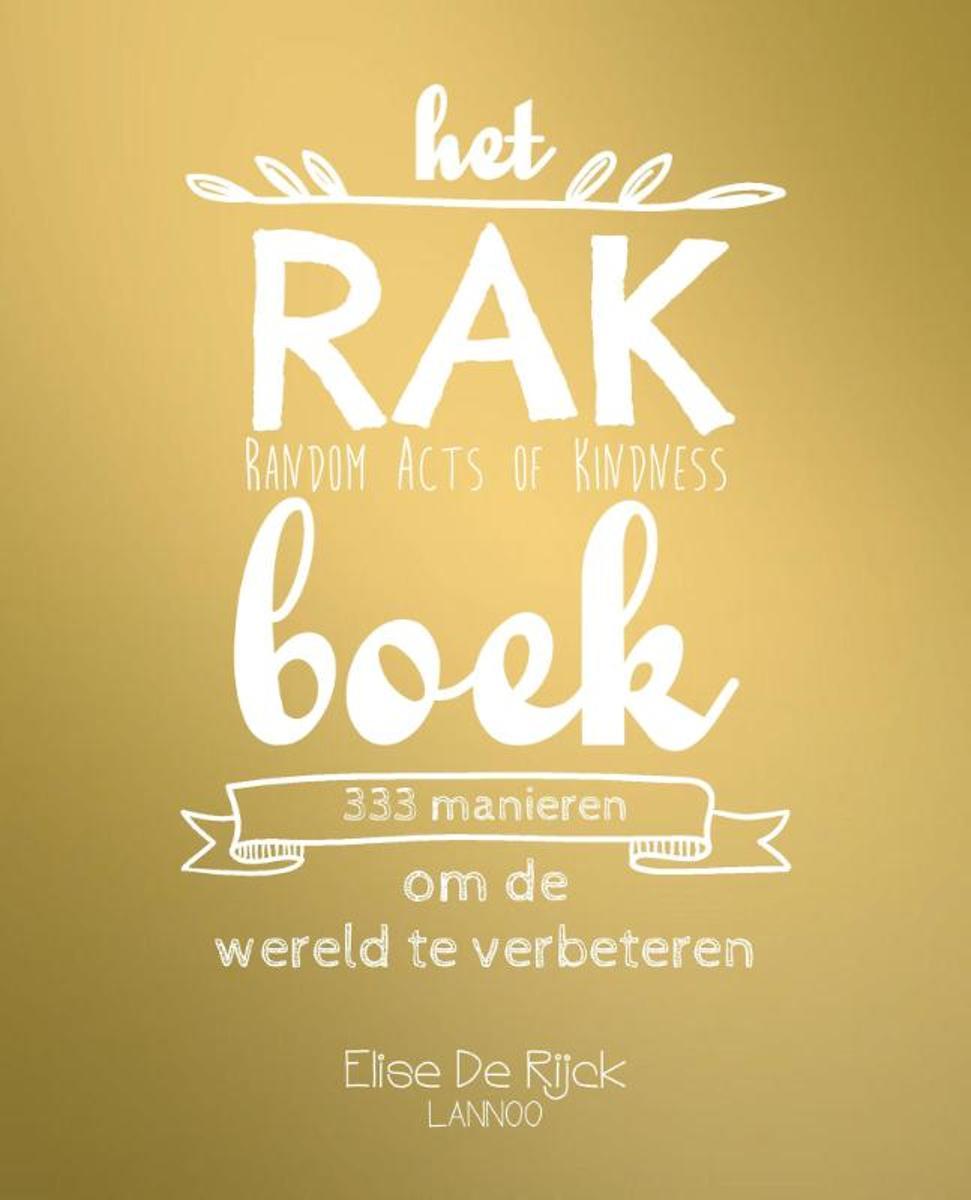 Afbeelding voor Het RAK boek