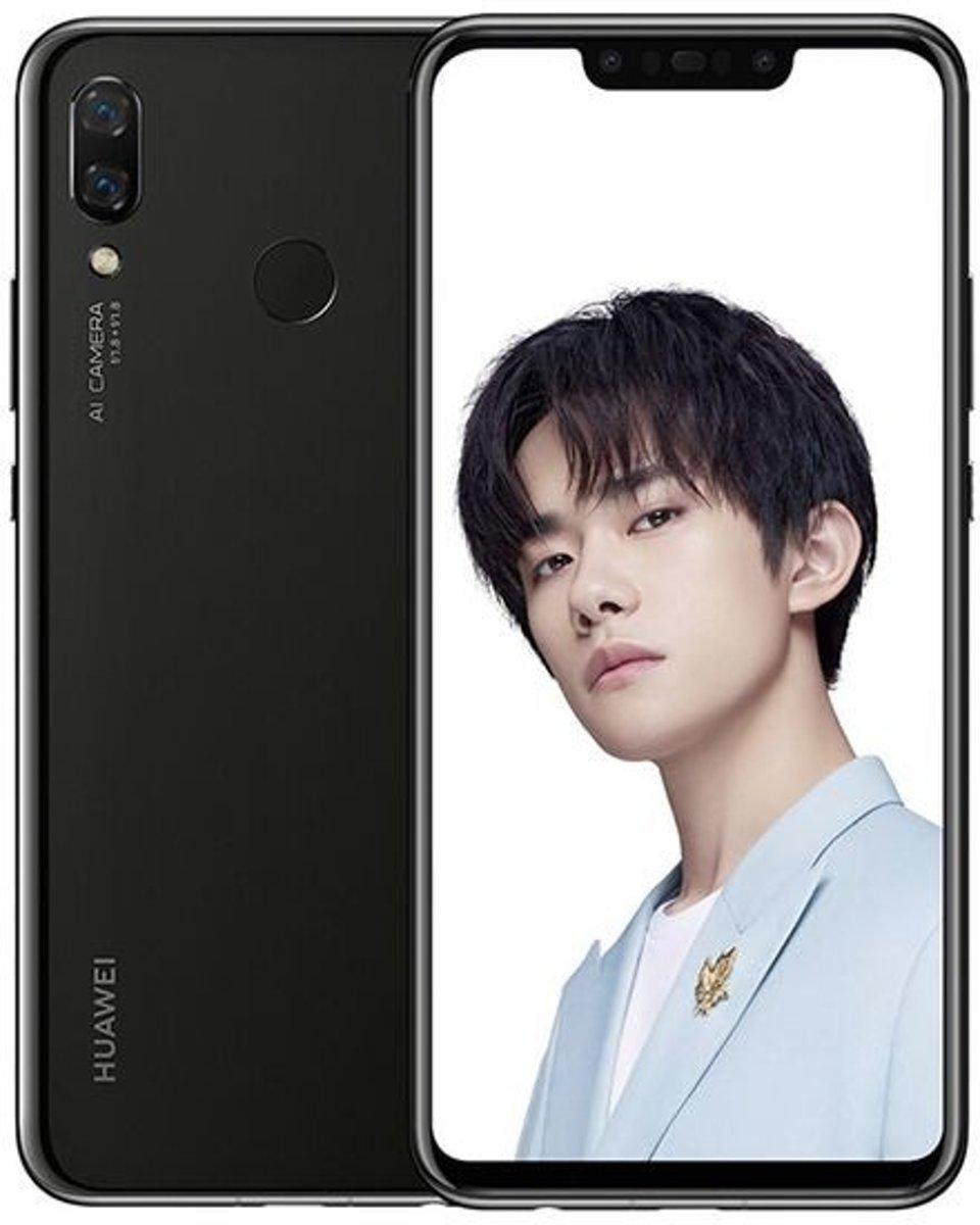 Huawei Nova 3 6,3 inch Android 8.1 Octa Core 3750mAh 4GB/128GB Zwart kopen