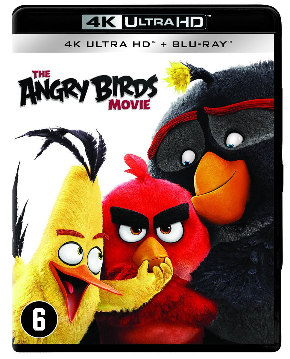 Angry Birds - The Movie (4K Ultra HD Blu-ray)-