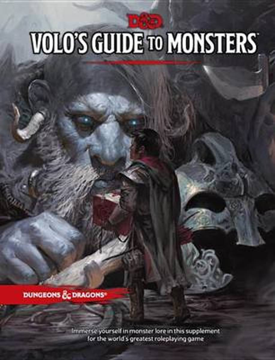 D&D 5.0 - Volo's Guide To Monster Manual