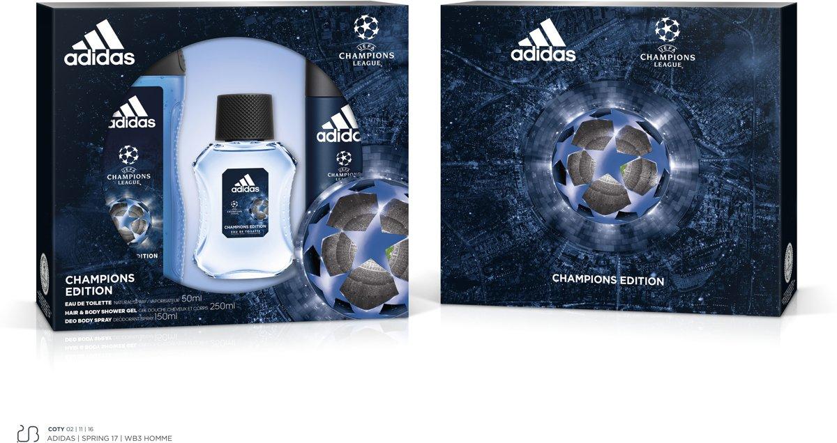   UEFA 4 EDT 50ml + BS 150ml + SG 250ml