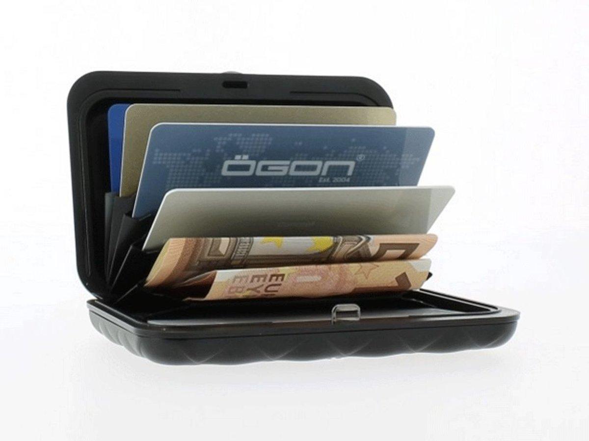 772803689a0 bol.com | Ogon Designs aluminium pas houder quilt editie met druksluiting -  Kleur - Oranje