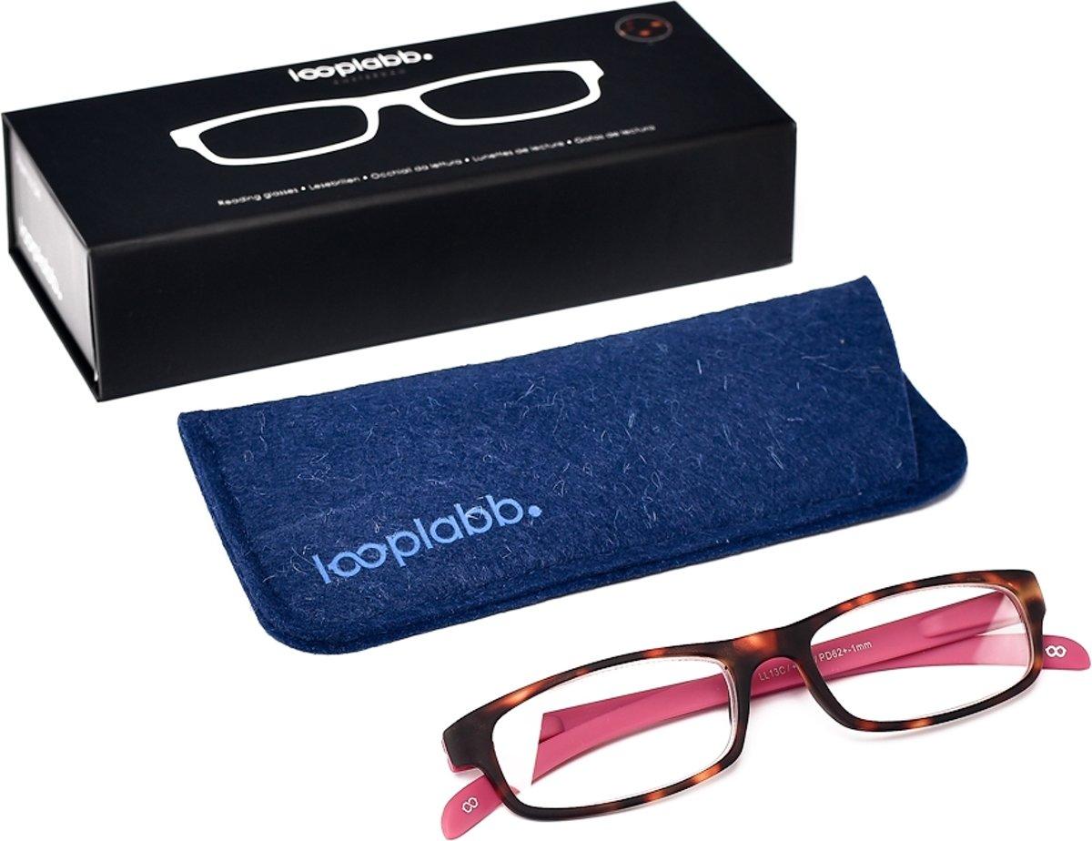 Looplabb. L'Estranger Leesbril - Roze - Sterkte: +3.00 kopen