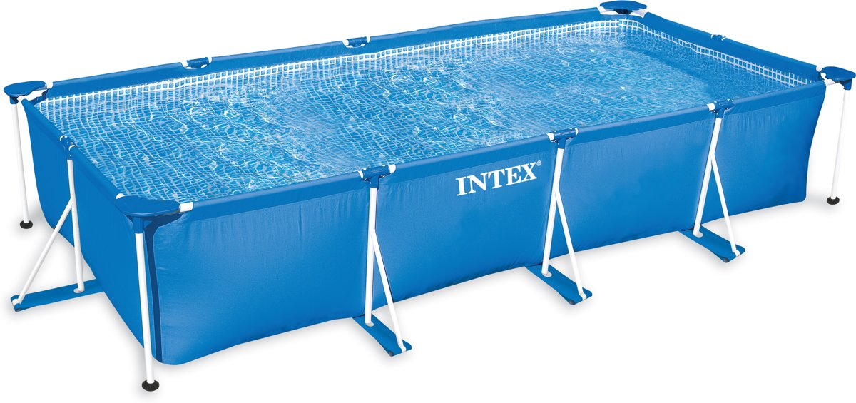 Intex Rectangular Frame Zwembad -  220 x 150 x 60 cm