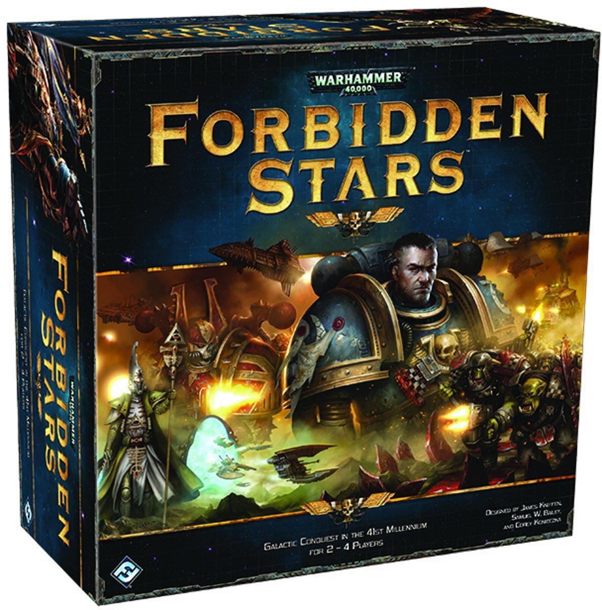 Warhammer 40K Forbidden Stars board game