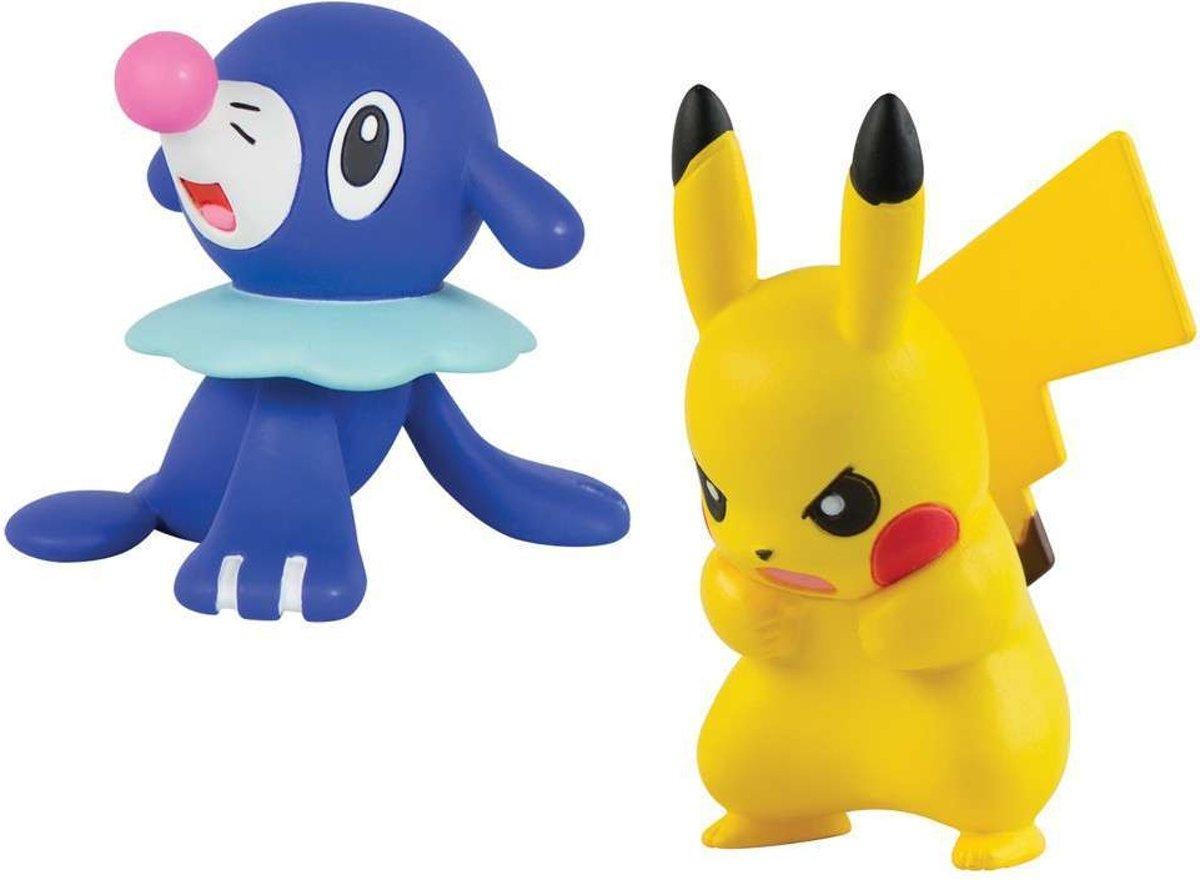 Pokemon - Pikachu vs Popplio Action Figure Toy Set