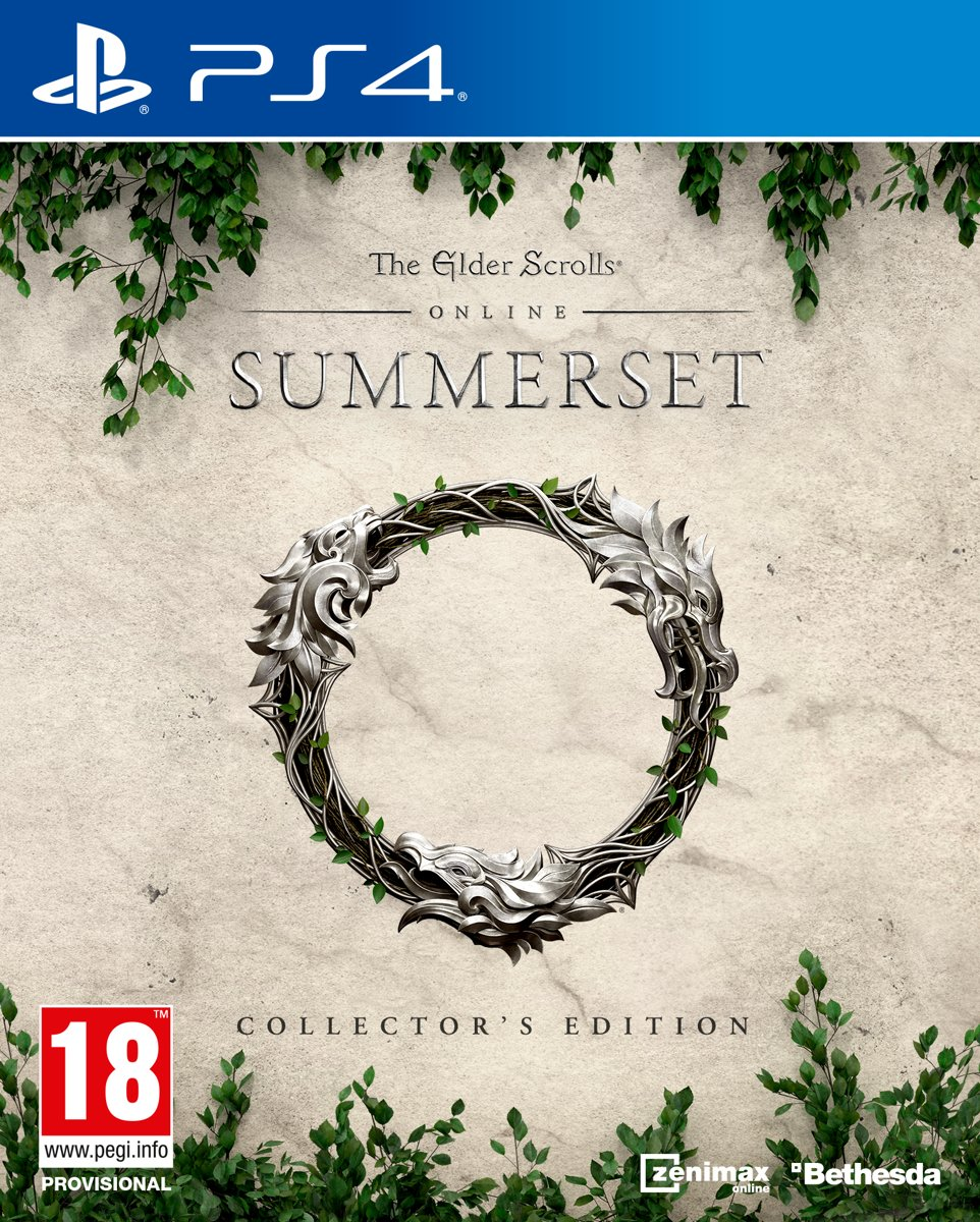 The Elder Scrolls Online: Summerset - Collector's Edition PlayStation 4