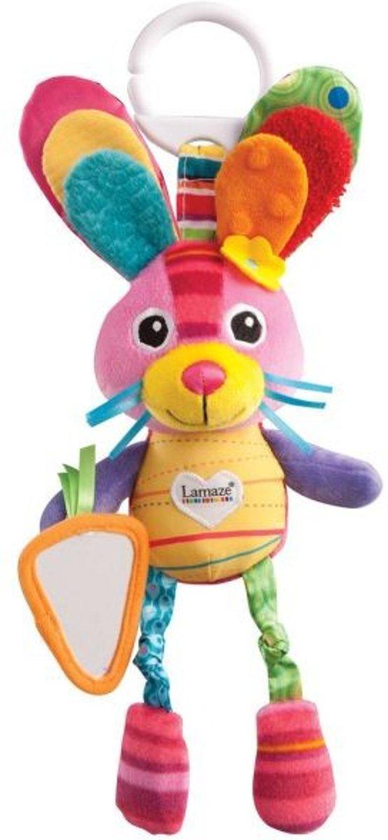 Tomy Lamaze knuffel konijn Bella