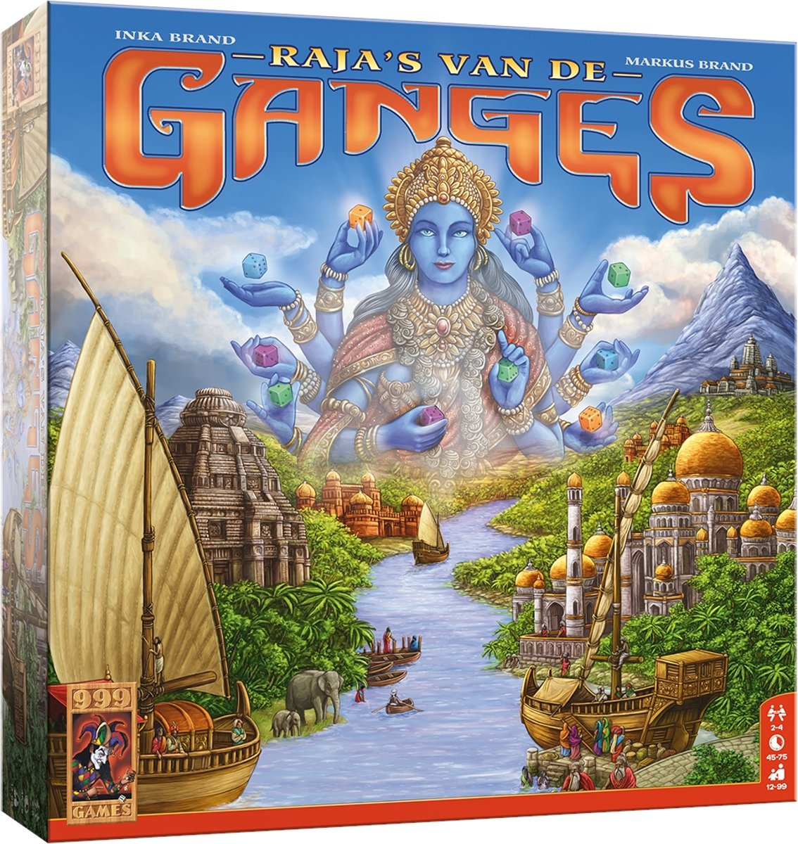 Raja's van de Ganges Bordspel