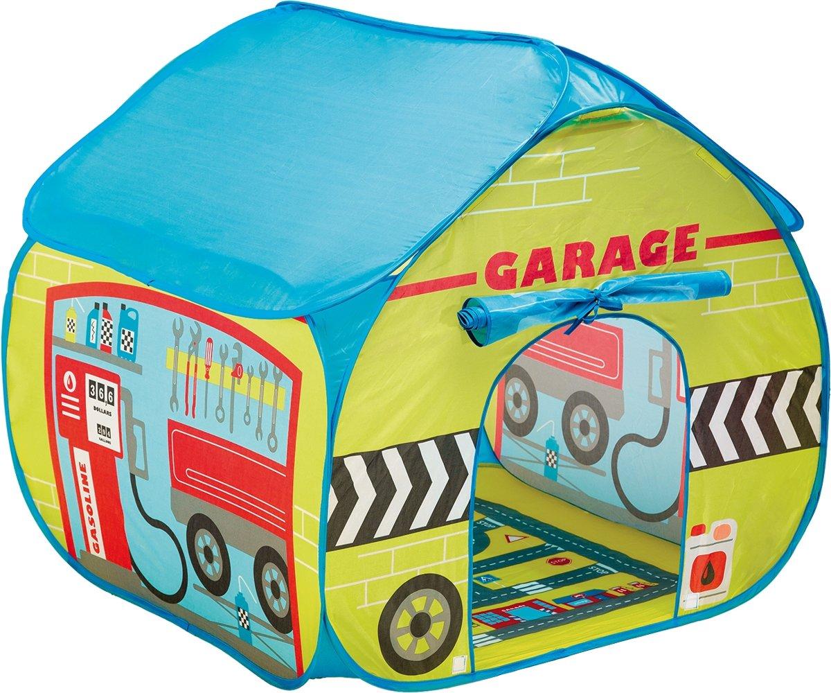 Pop Up Garage : Pop it up speeltent garage hobbyenspeelgoed