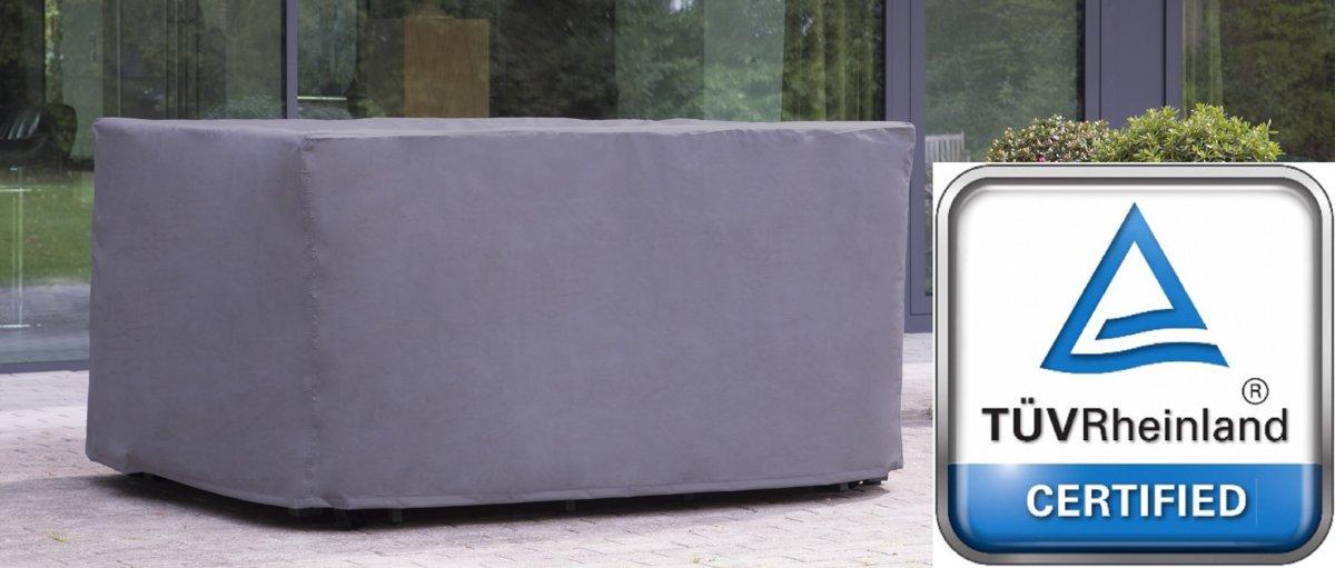 ATLANTIS | Weersbestendige Beschermhoes Tuinset (M) | 185 x 150 x 95 cm | Premium | Waterproof | TÜV Rheinland Gecertificeerd