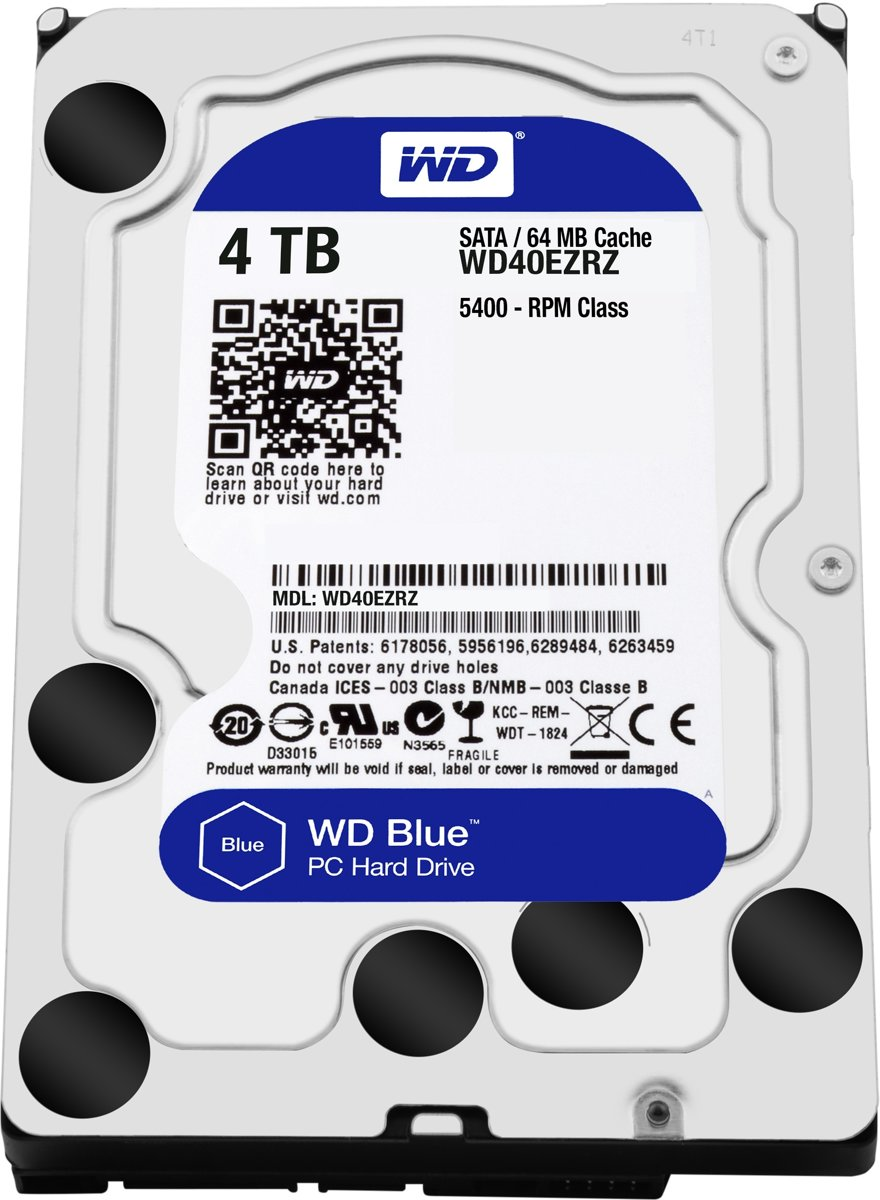 WD Blue - Interne harde schijf - 4 TB