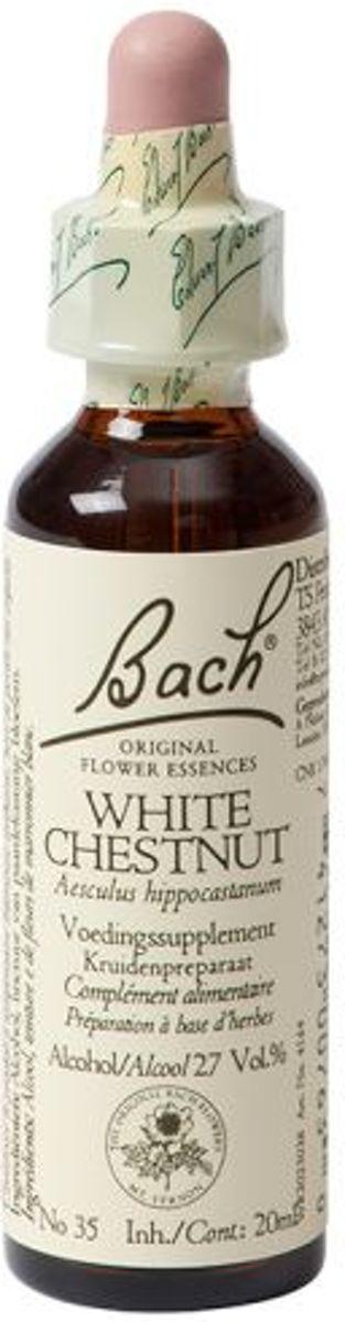 Foto van White Chestnut/Paardekast Bach - 20 ml - Voedingssupplement