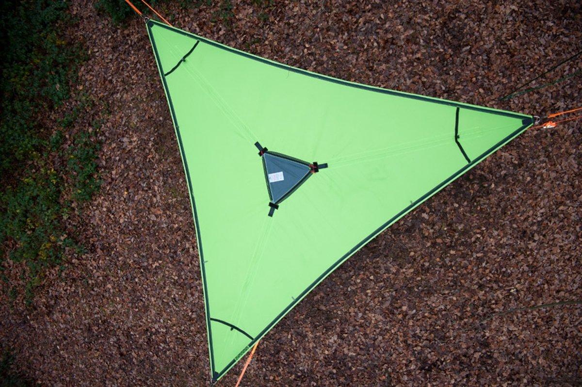 Boom Hangmat Trillium Hammock - 3 personen - fresh green (licht groen)