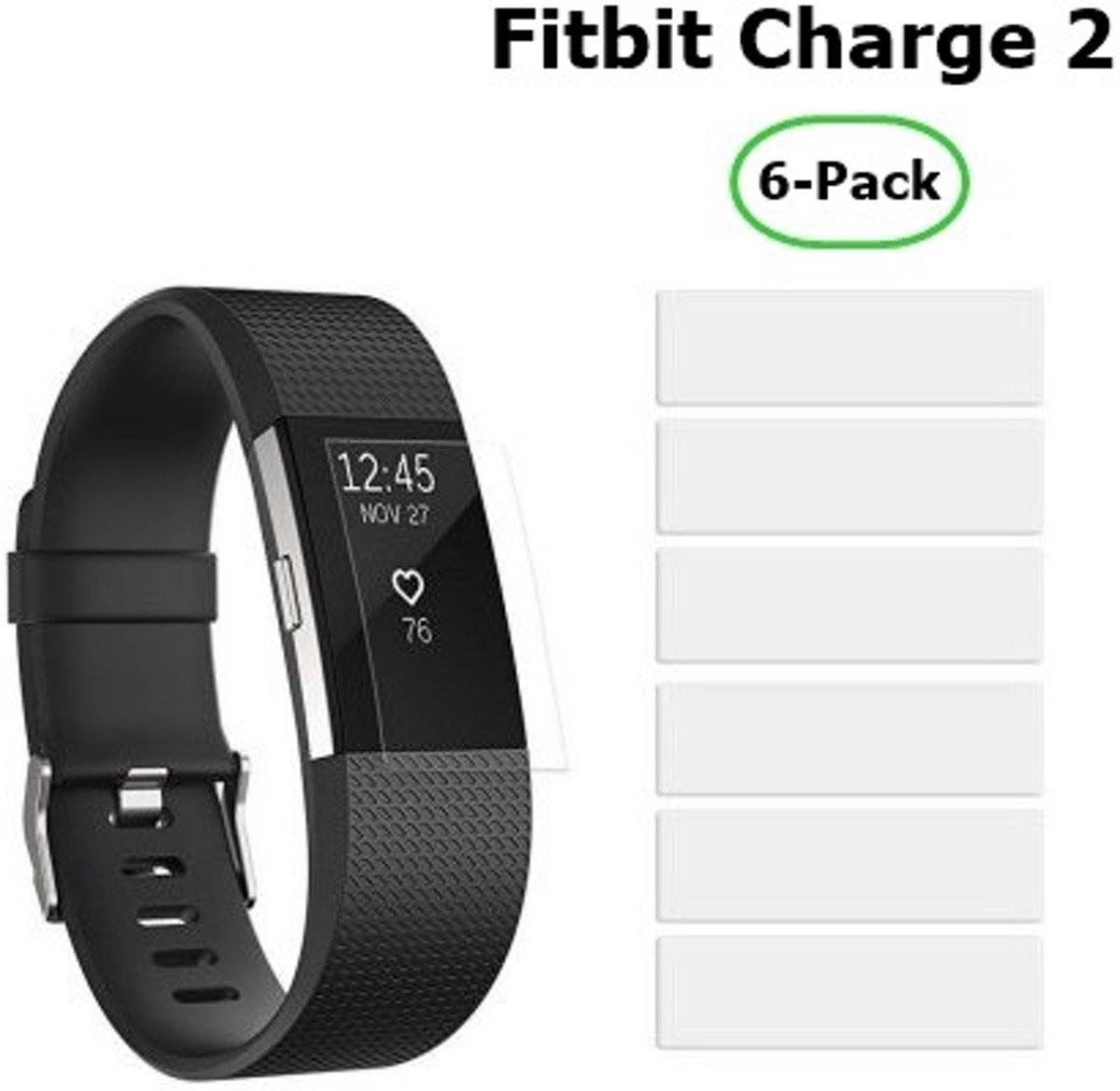 6 Stuks Beschermfolie voor Fitbit Charge 2 kopen