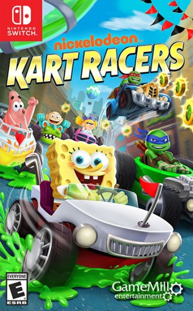 Nickelodeon Kart Racers Switch