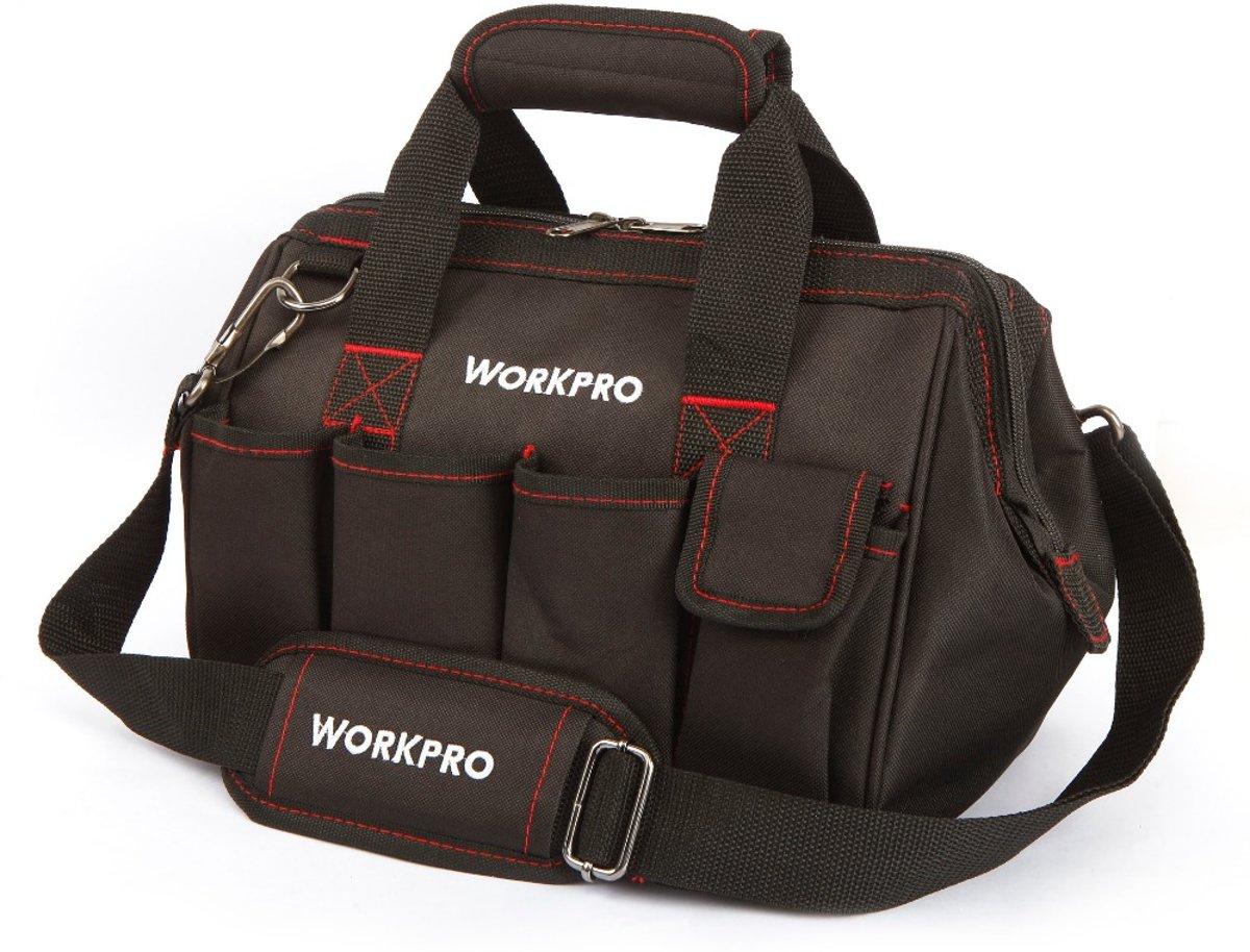 WorkPRO Gereedschapstas – Schouder en Hand Tas voor Klusser en Vakman – Groot Gereedschap Vak kopen