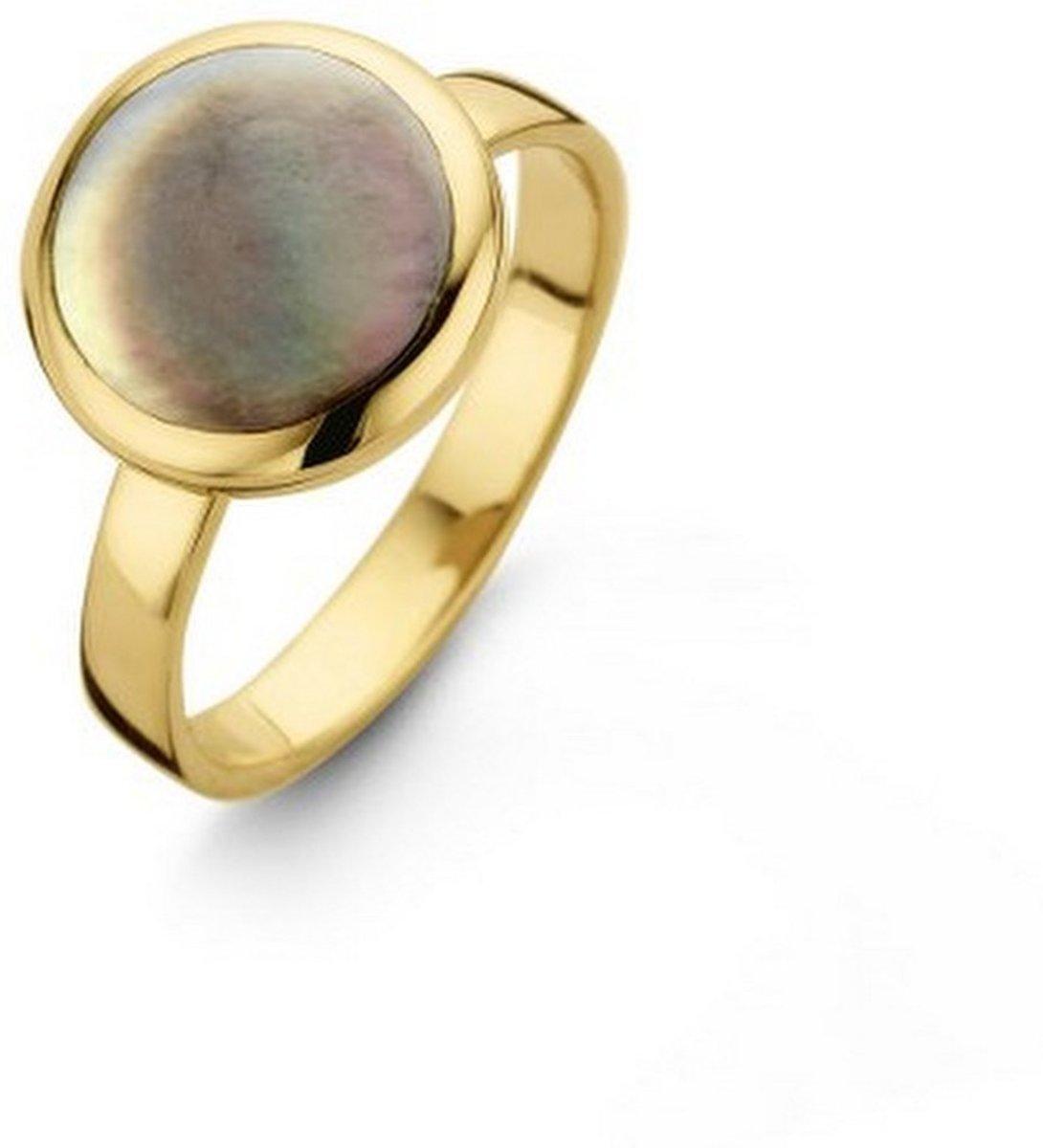 Casa Jewelry Ring Pom Grey L 54 - Goud Verguld kopen