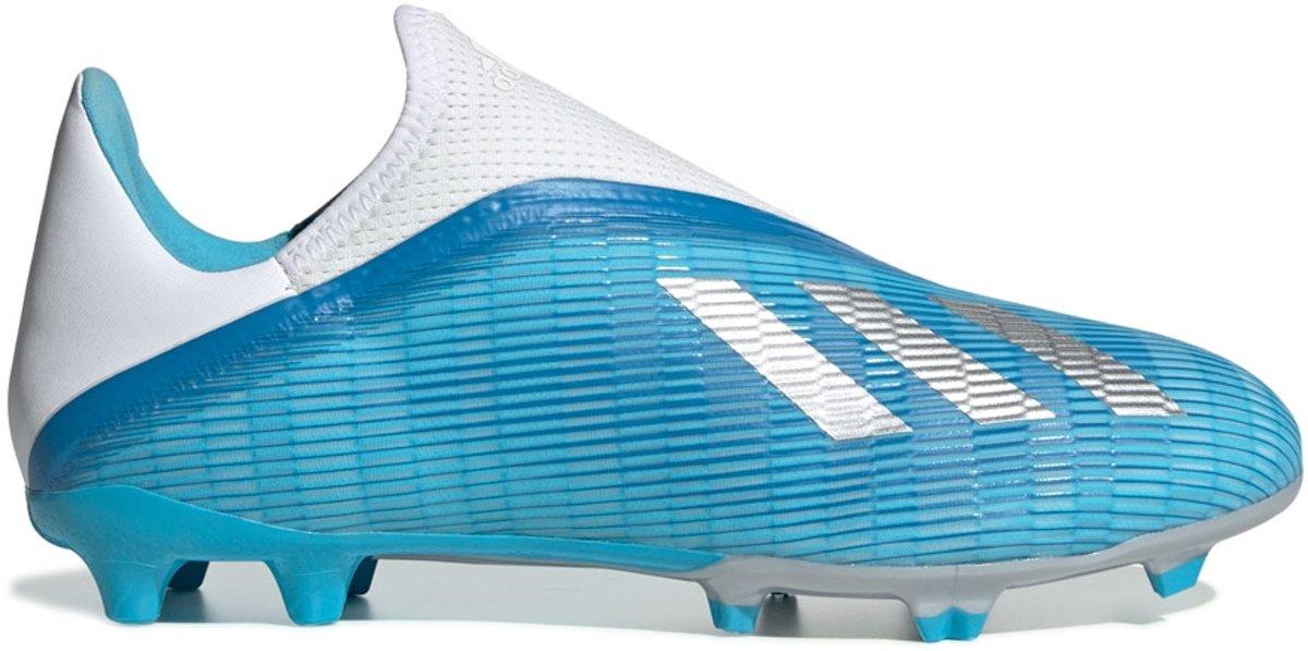Adidas X 19.3 LL FG Voetbalschoenen Grasveld blauw licht 40 23