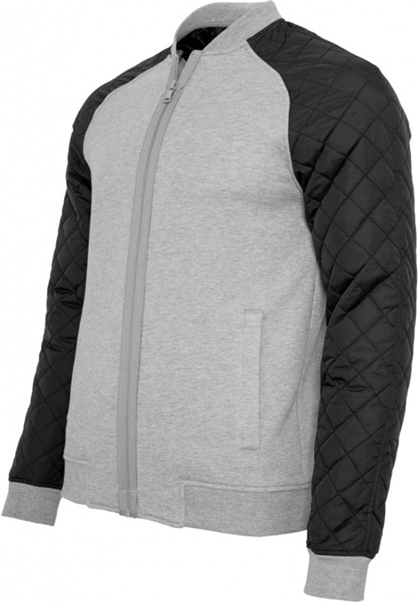   Urban Classics Diamond Nylon Sweatjacket TB859 Gry