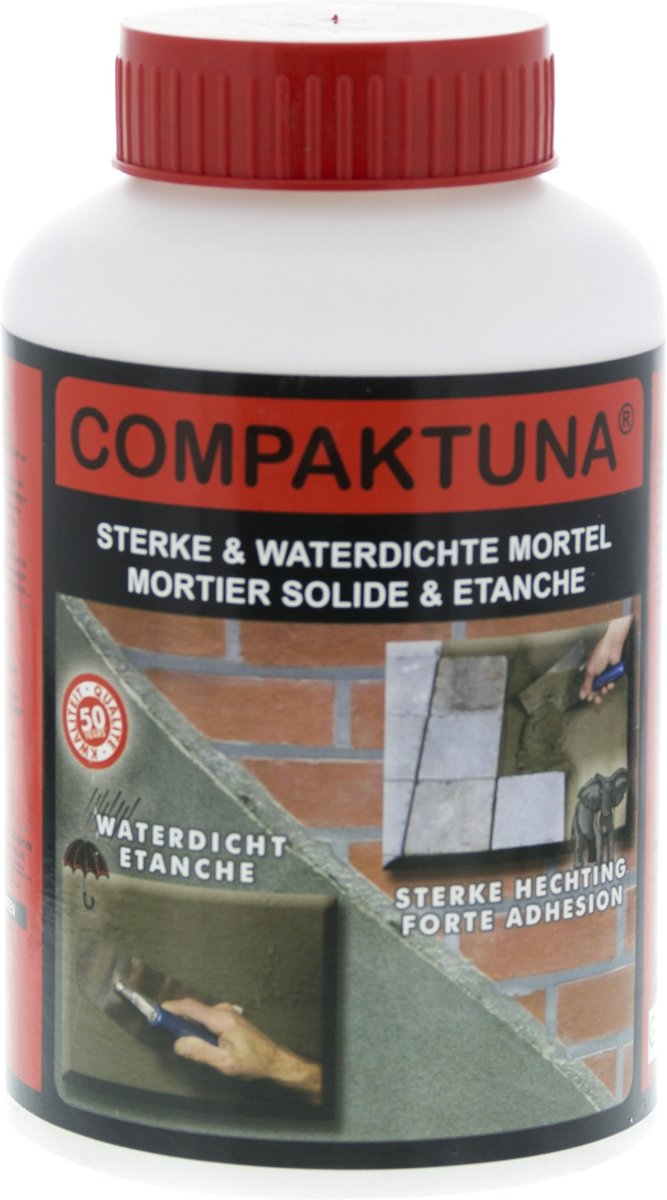 Compaktuna 1 L waterdichte mortel kopen