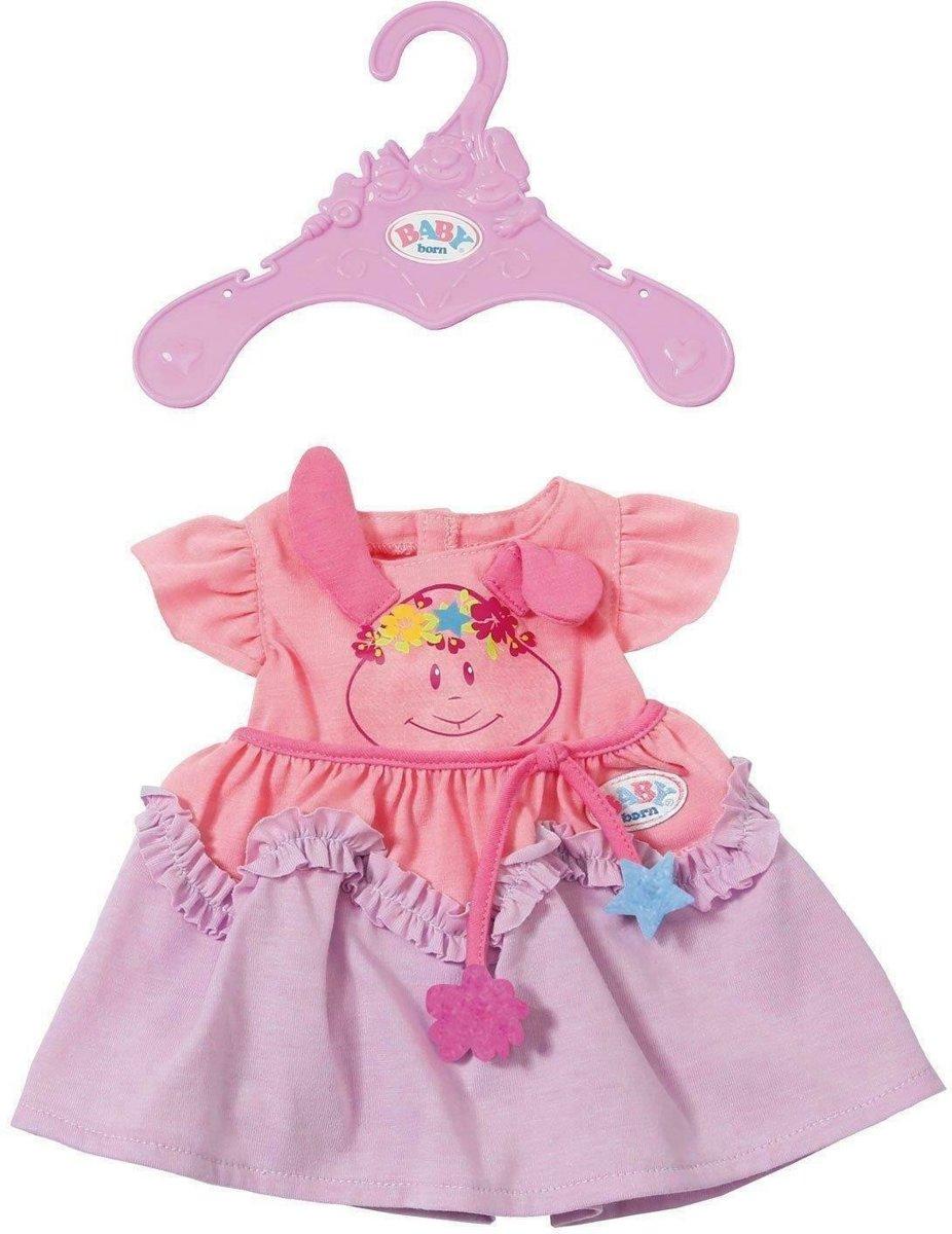 Baby Born Jurkje Voor Pop Van 43 Cm Roze/paars