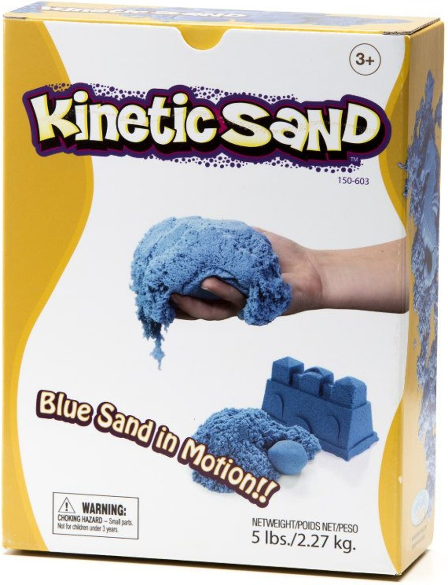Waba Fun Kinetic sand Blauw 2,2 kilo