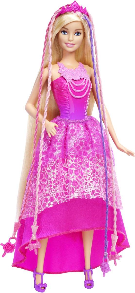 Barbie Bijzonder Lang Haar Koninkrijk Prinses - Barbiepop