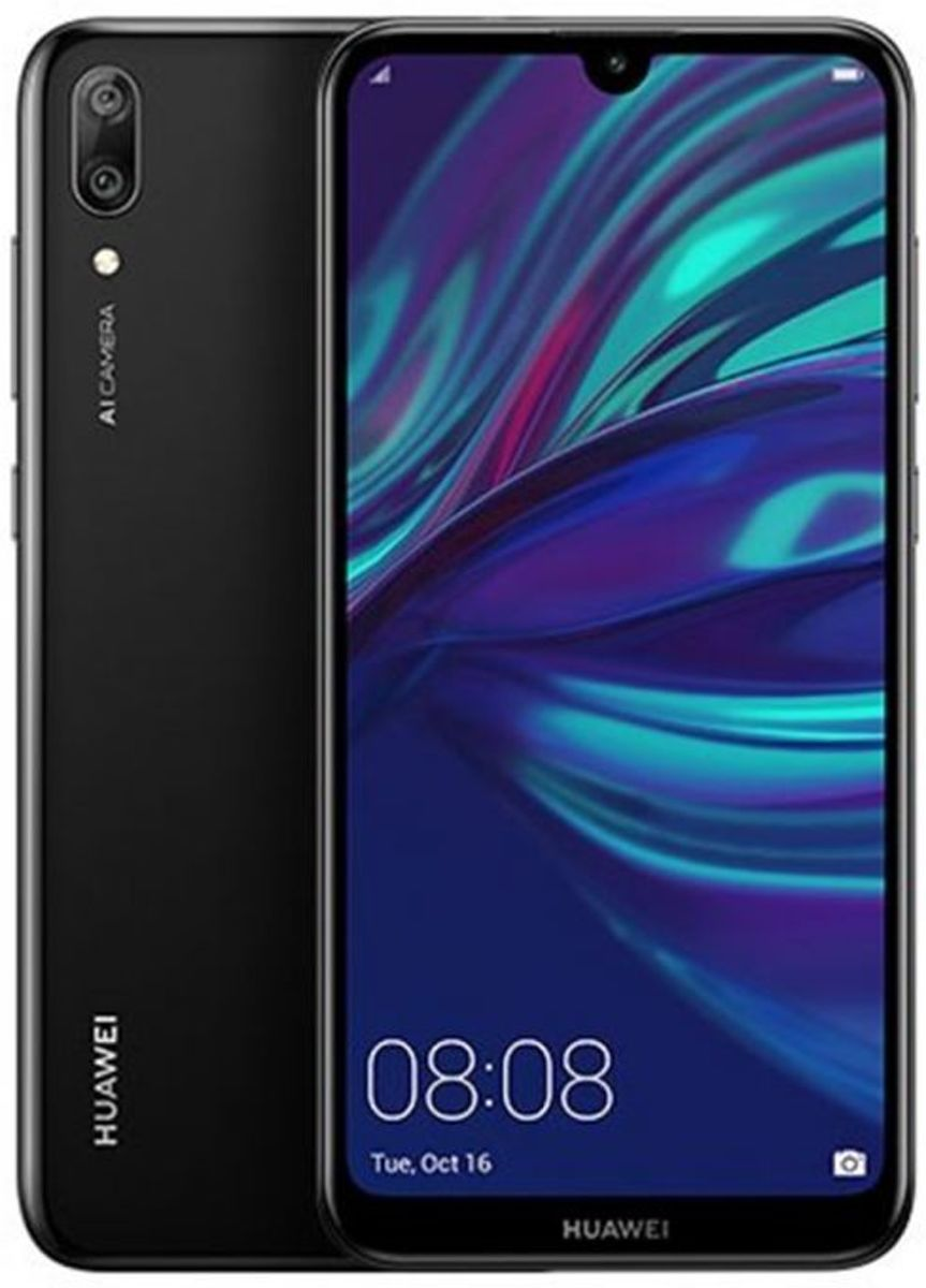 Huawei Y7 Pro 2019 Mid Night Black 32GB Dual Sim kopen