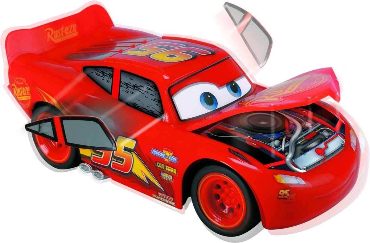 Bol Com Cars 3 Rc Lightning Mcqueen Bestuurbare Auto Dickie