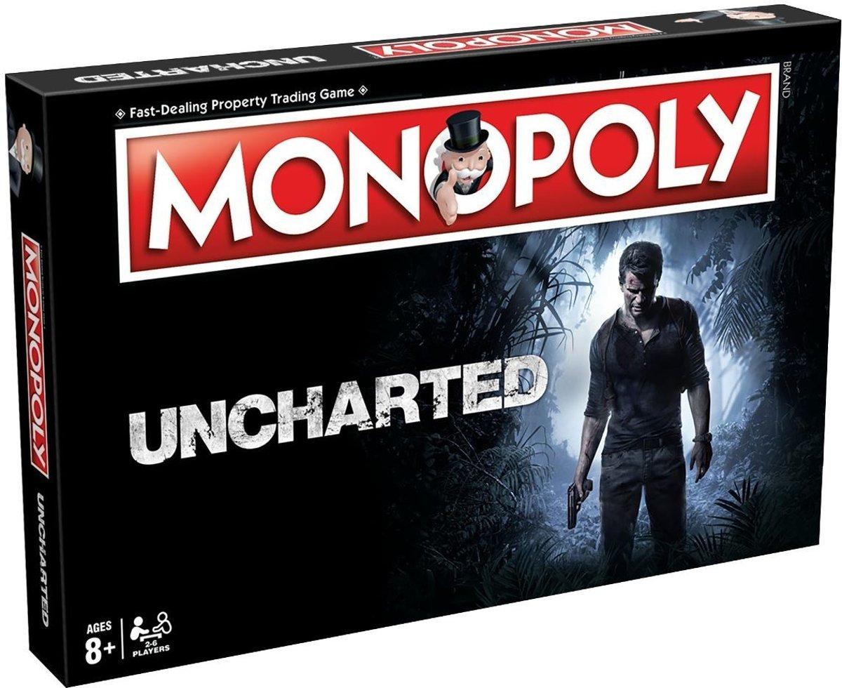 Monopoly Uncharted - Engelstalig Bordspel